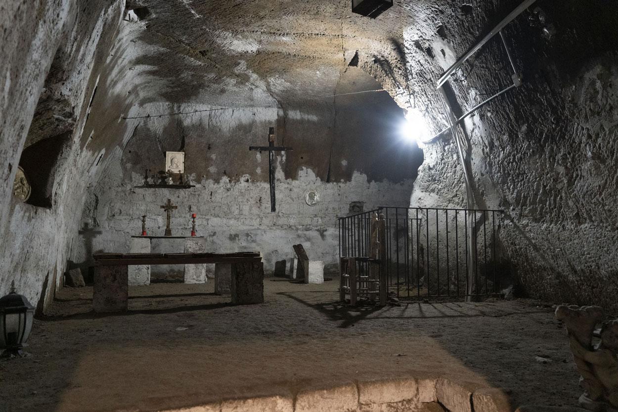 Naples Underground - S. Anna Chapel