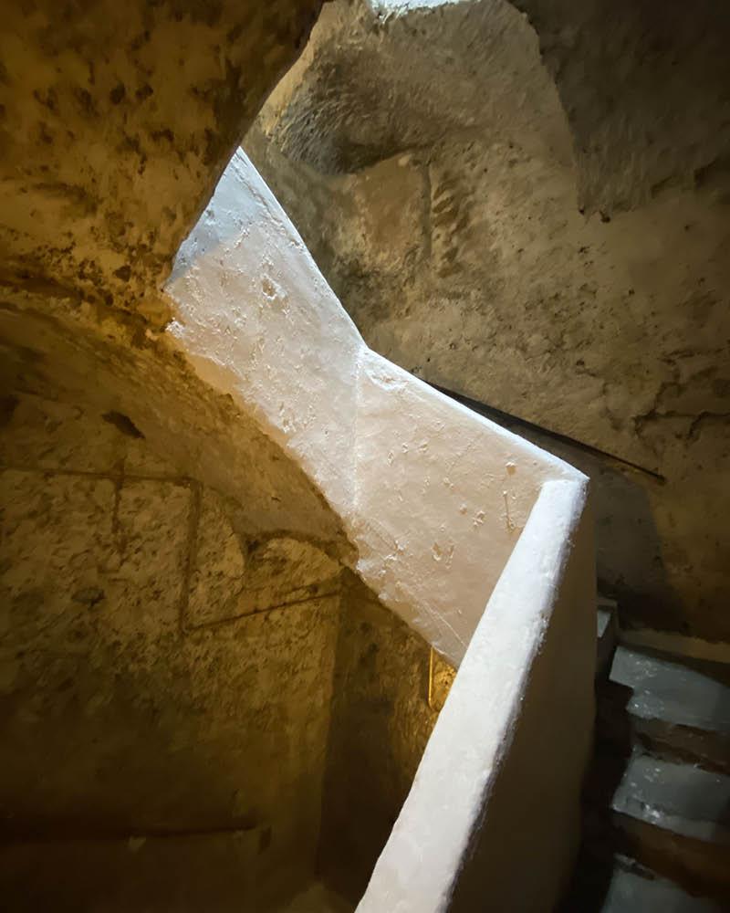 Naples underground via Chiaia