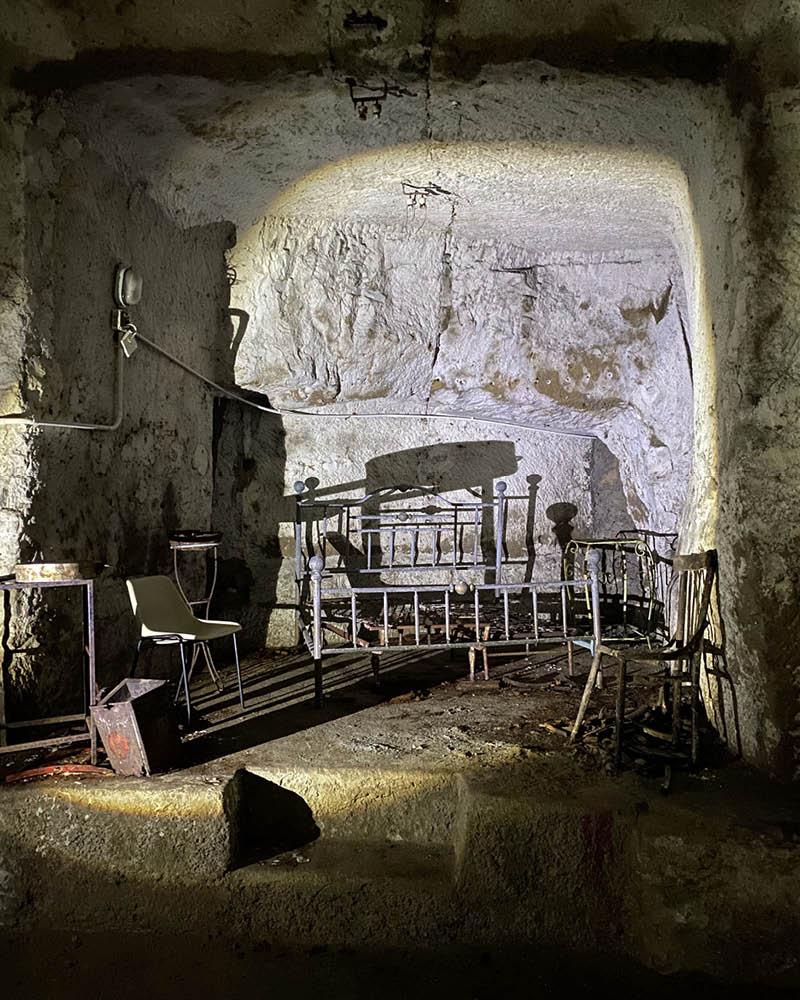 Napoli Sotterranea Storia