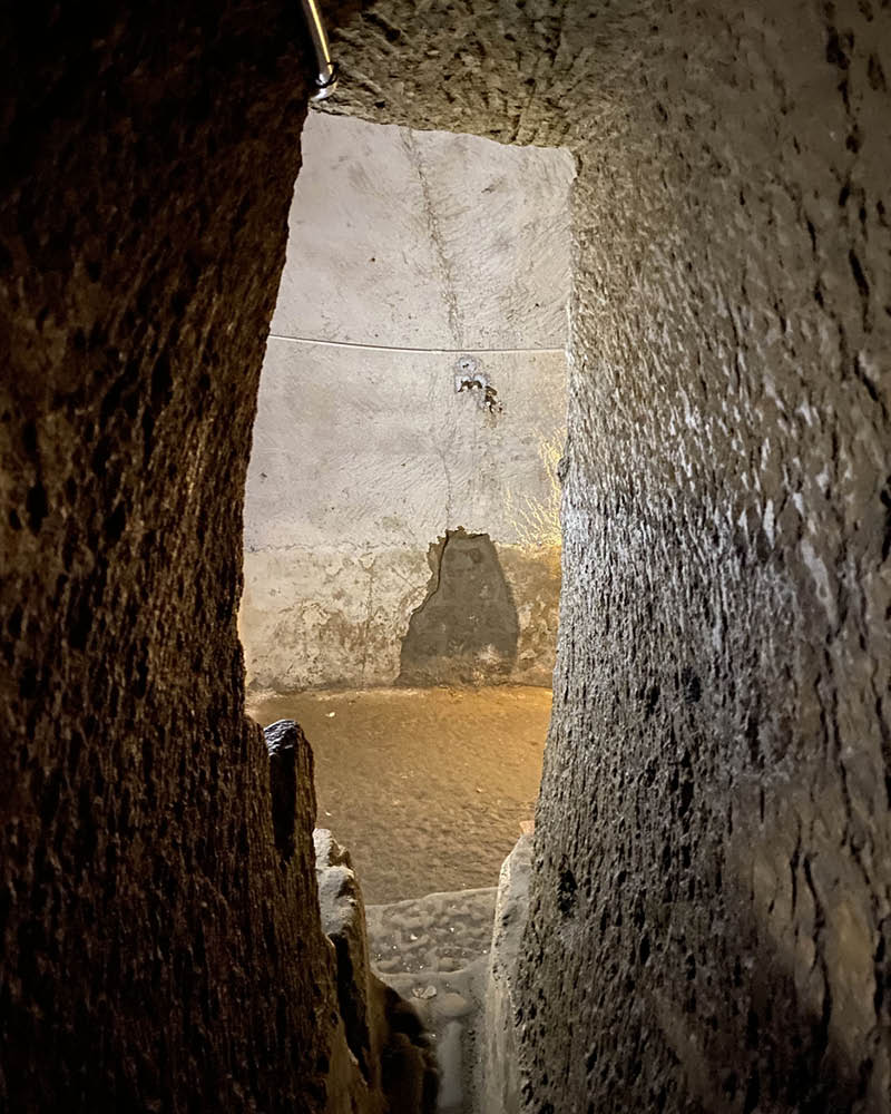 Naples underground Cave 1