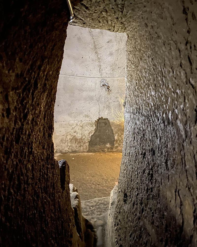 Napoli sotterranea - Cavità S. Anna di Palazzo