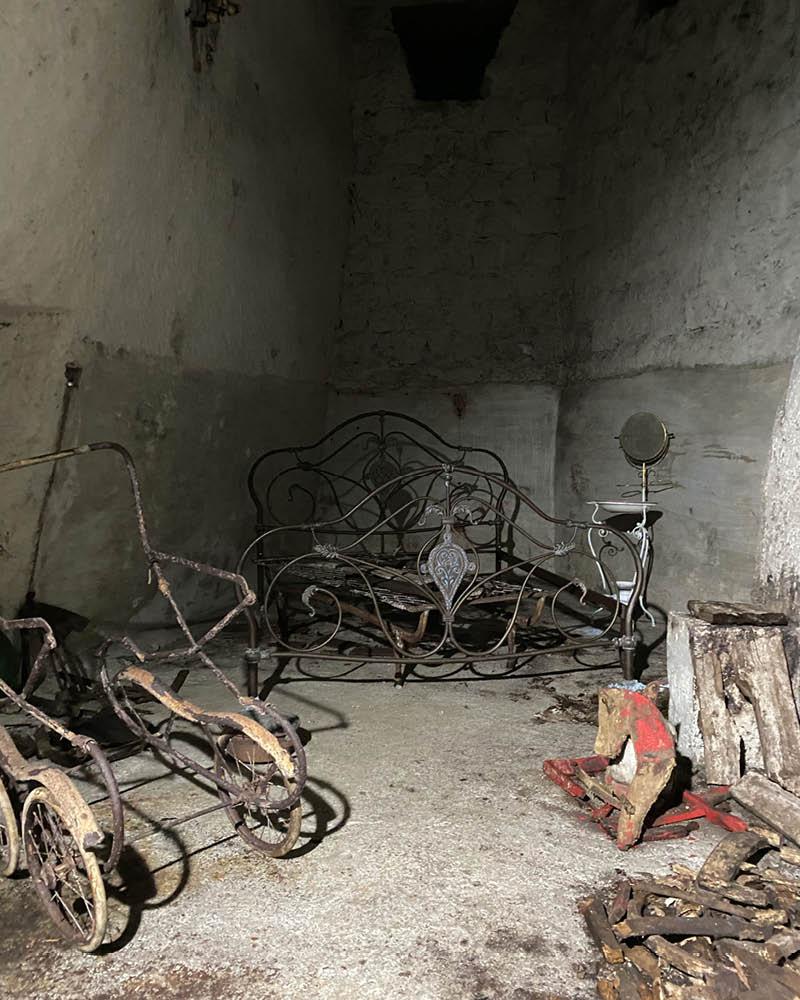 Napoli sotterranea LAES Camera sotterranea