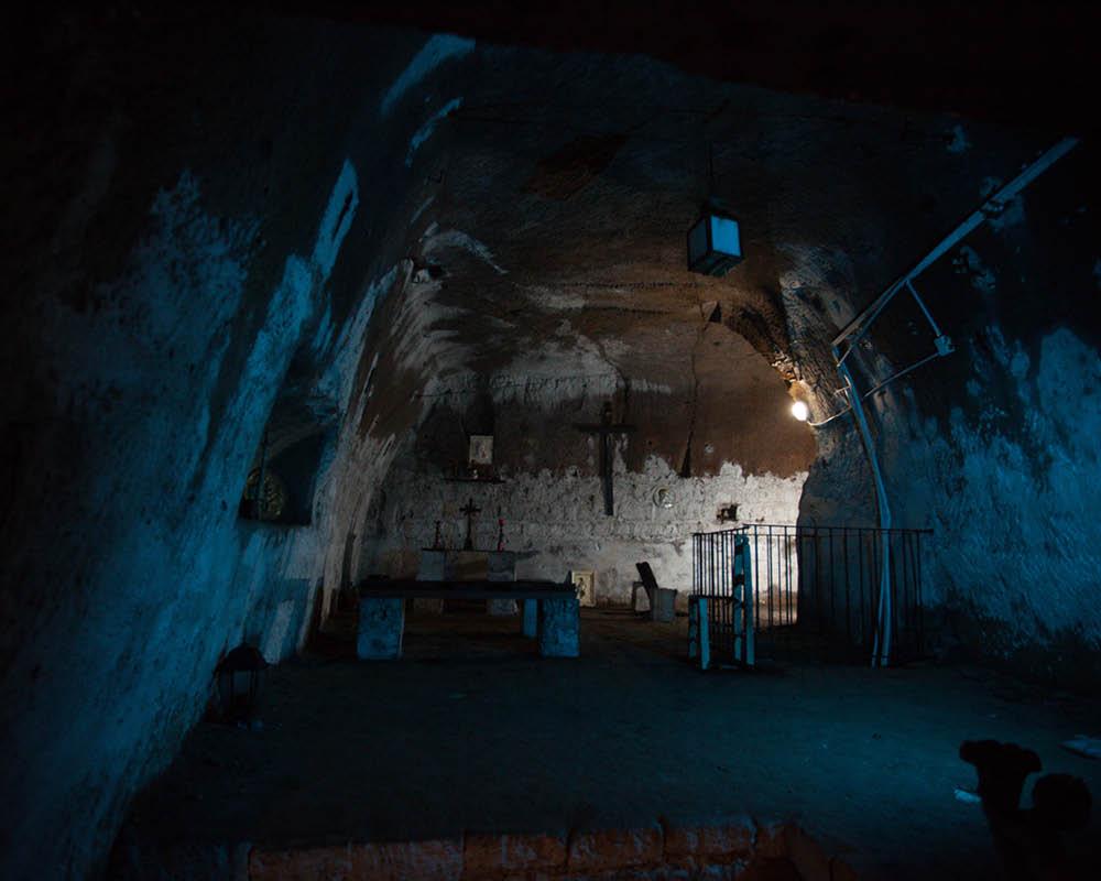 LAES Napoli sotterranea Cappella S. Anna