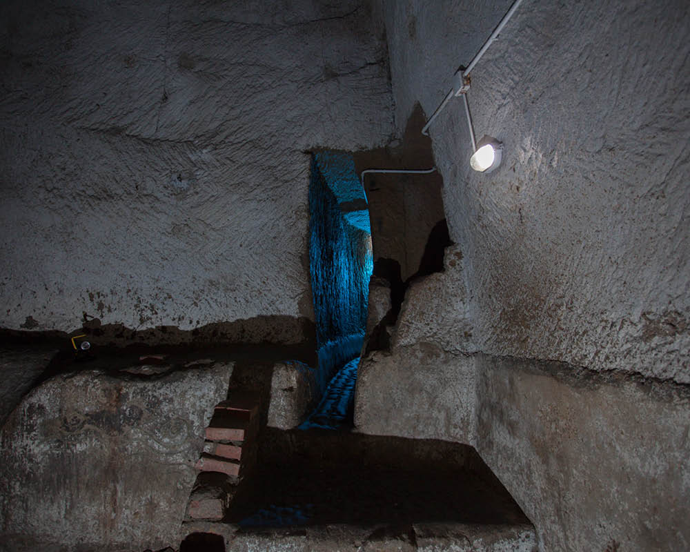 Napoli sotterranea Ingresso cunicolo