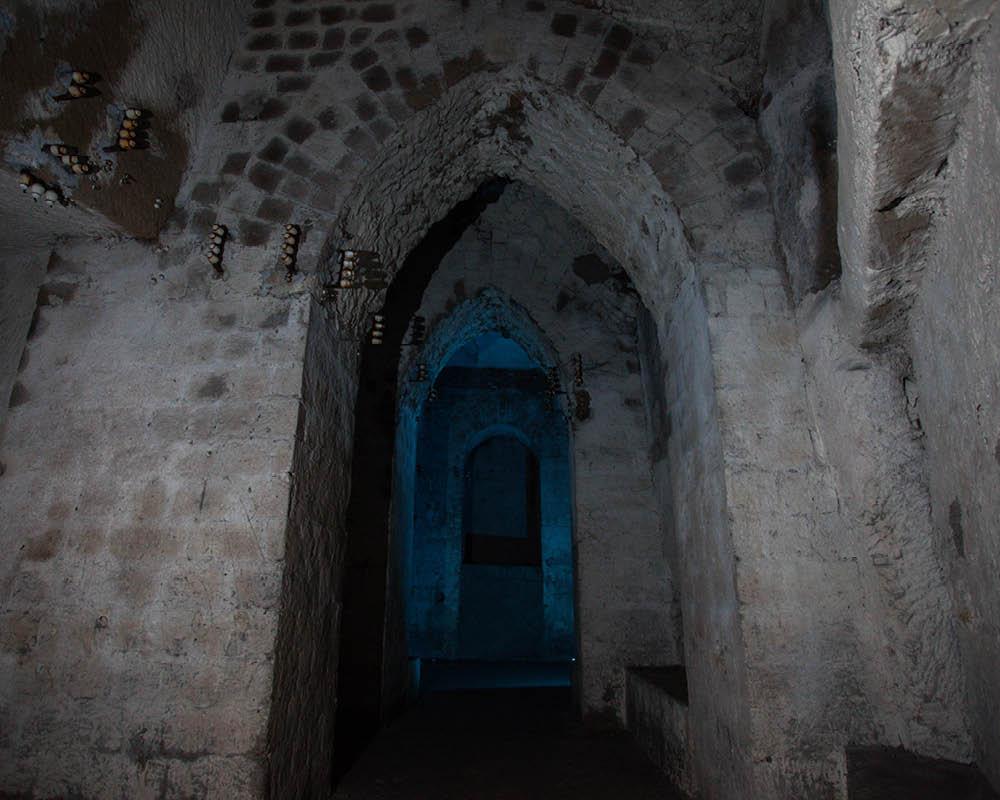 Napoli sotterranea - Cavità salita S. Anna di Palazzo